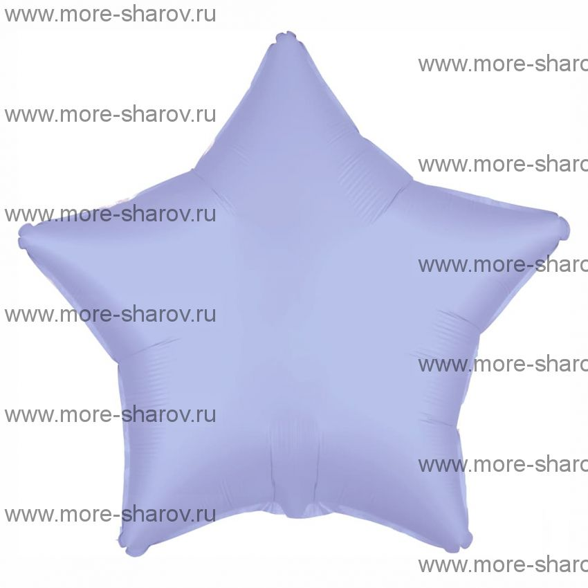 Шар Лавандовый Сатин 46 см