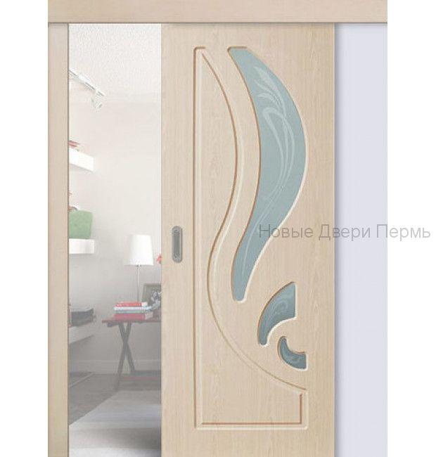 Раздвижная дверь Лиана ДО с ПВХ покрытием