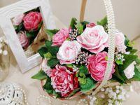 мыльные пионы и розы