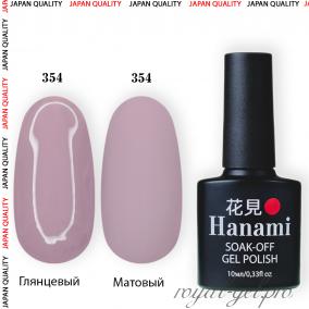 Гель лак HANAMI M354
