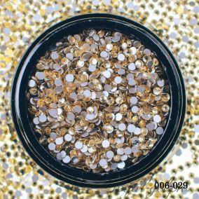 Стразы Hanami Светлое золото, SS4 1440 шт.