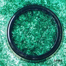 Стружка Hanami, зелёный, 02*1,5мм 2 гр.