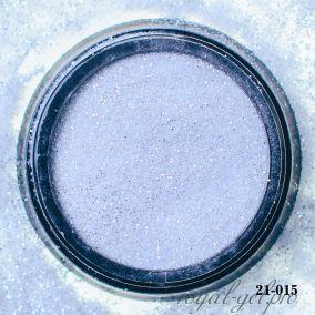 Акриловая пудра Hanami с блёстками, серебро 2 гр.