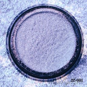 Металлический пигмент для втирки Hanami Серебряный жемчуг 2 гр.