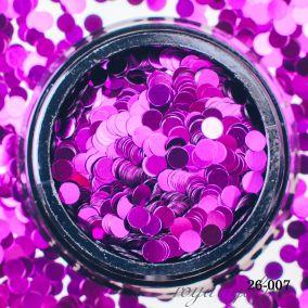 Камифубики Hanami Кружки, фиолетовый, 3мм