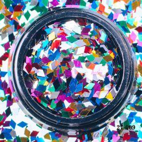 Камифубики Hanami Ромбики, цветной микс, 2мм