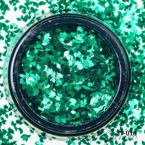 Камифубики Hanami Ромбики, зелёный, 1мм