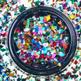 Камифубики Hanami Ромбики,микс цветов и размеров