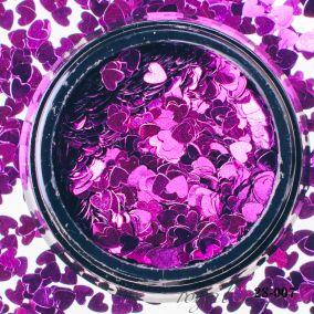 Камифубики Hanami Сердце, фиолетовый, 3мм