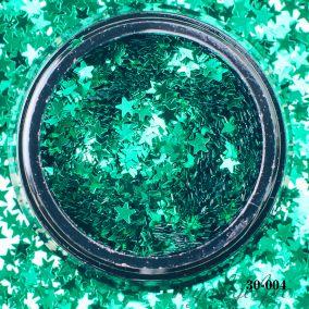 Камифубики Hanami Звезда, зелёный, 3мм