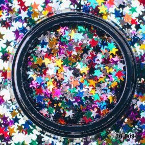 Камифубики Hanami Звезда,цветной микс, 3мм