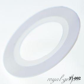 Клейкая лента для дизайна ногтей белая толщина 1 мм. 20 м.