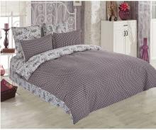 Постельное белье Сатин Лилита 1.5-спальный  Арт.1587-1