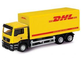 Модель грузовика машинка 1:64 MAN DHL фургон