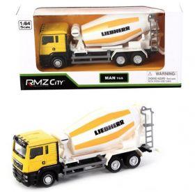 Модель грузовика машинка 1:64 MAN бетономешалка
