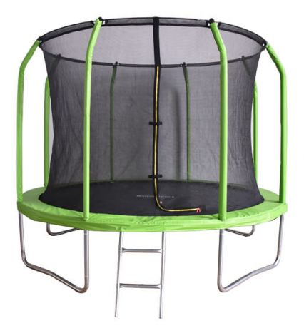 Зеленый батут с сеткой Bondy Sport 12 ft BS12FTGR