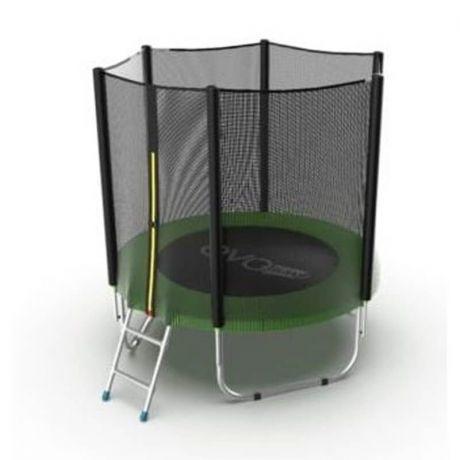 Батут с защитной сеткой Evo Jump External 6ft Green