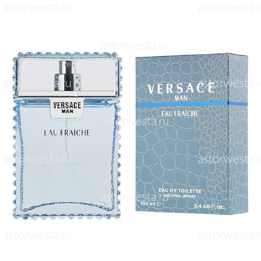 Туалетная вода Versace Man Eau Fraiche, 100 мл (ПОД ЗАКАЗ)