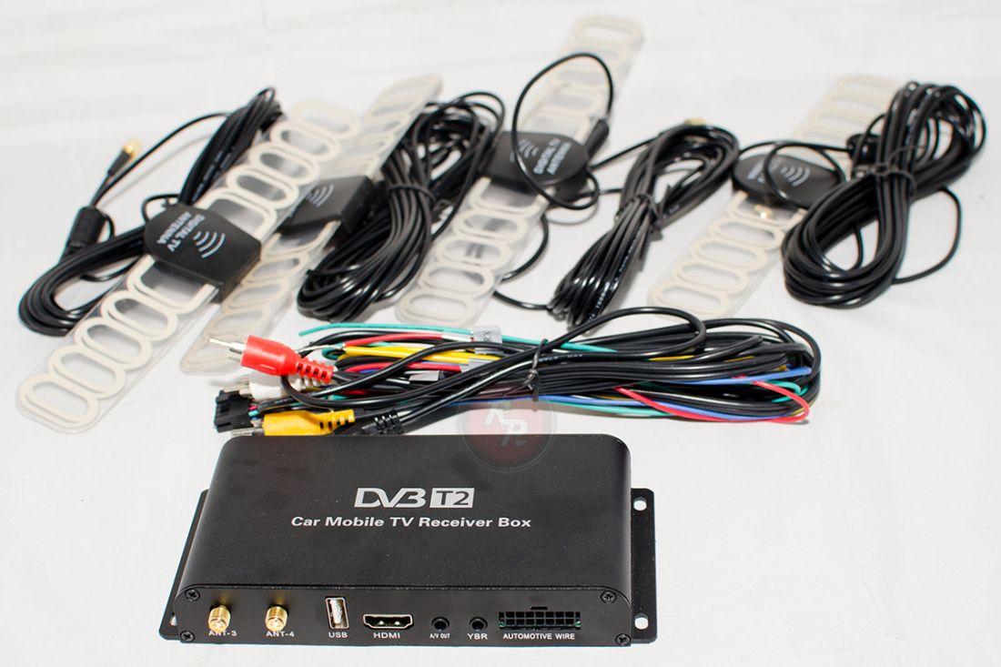 Цифровой DVB-T2 ТВ-тюнер RedPower DT9 (DVB-T2) 4 Антенны