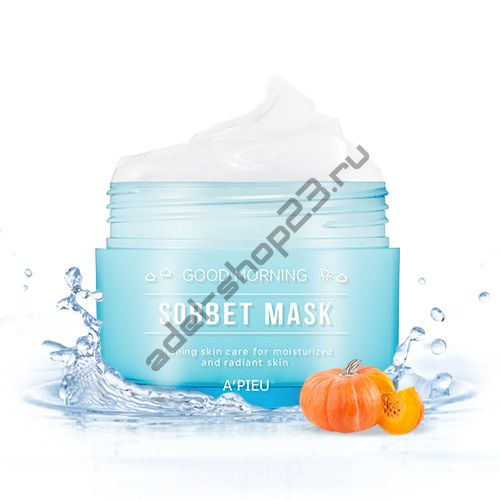A'PIEU - Утренняя маска-сорбет Good Morning Sorbet Mask