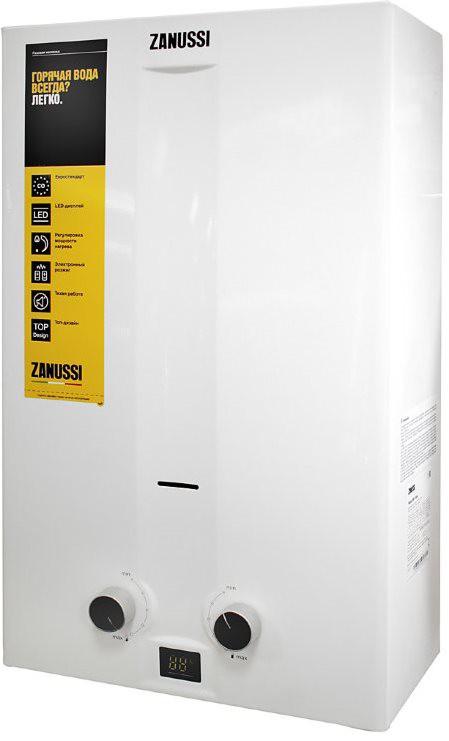 Проточный водонагреватель Zanussi GWH 12 Fonte