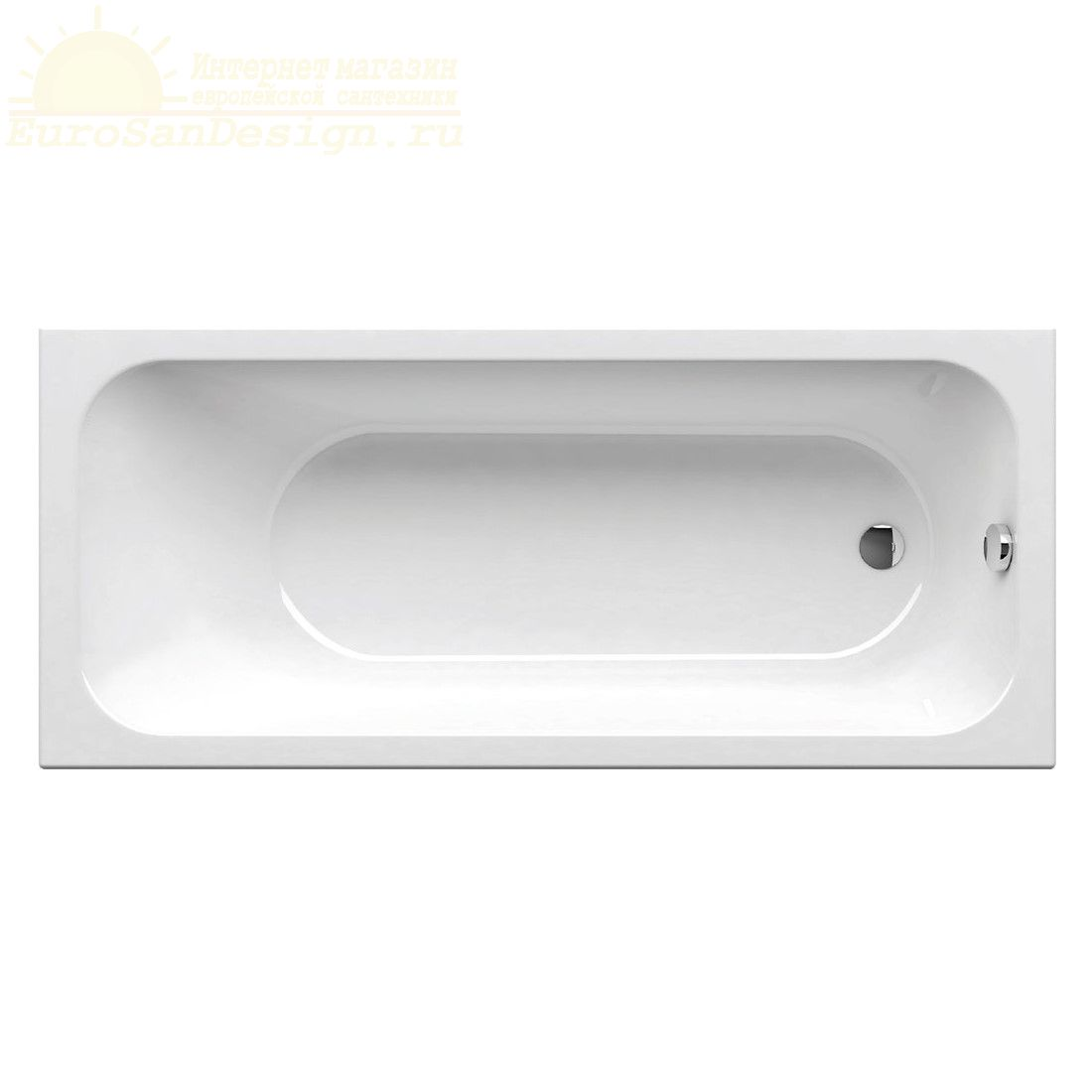 Прямоугольная ванна Ravak Chrome 160x70 ФОТО