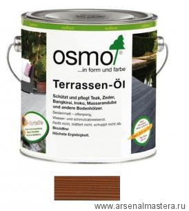 Масло для террас Osmo 010 Terrassen-Ole для термодревесины Натуральный тон 2,5л