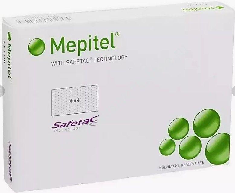 Мепитель (Mepitel) силиконовая накладка на рану, стерильная 10см*18см N1