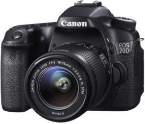 Canon EOS 70D Kit 18-55mm f/3.5-5.6 IS STM