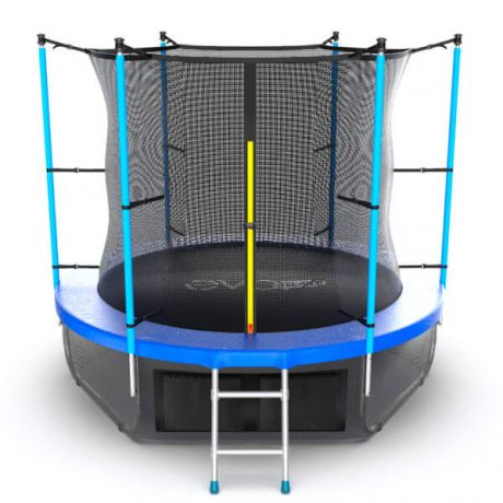 Батут с верхней и нижней сеткой Evo Jump Internal 8ft Lower net Blue