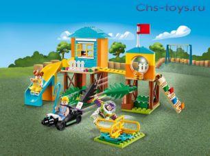 Конструктор LARI Toy 4 Приключения Базза и Бо Пип на детской площадке 11319 (Аналог LEGO Toy Story 10768) 157 дет