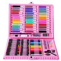 Набор для рисования в чемодане Art Set 150 предметов (цвет розовый)_5