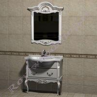 """Зеркало с консолью """"Руссильон PROVENCE- 2-75 эмаль"""