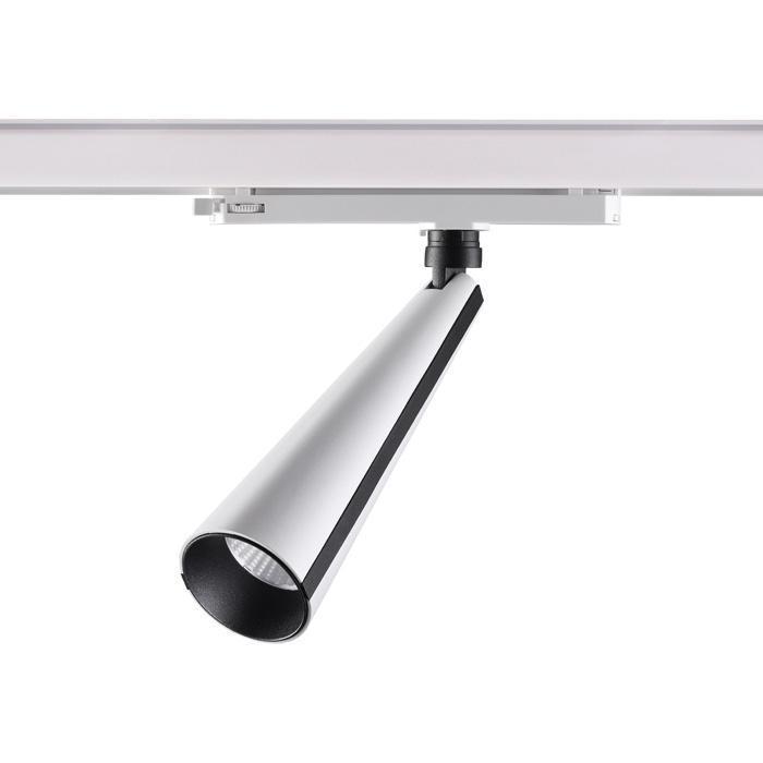 Трековый светодиодный светильник Novotech Zeus 358173