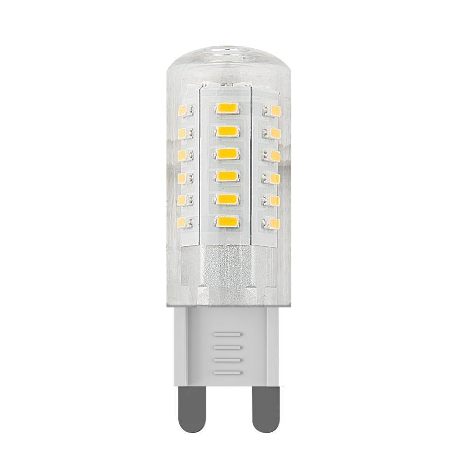 Лампа светодиодная Voltega G9 3W 4000К кукуруза прозрачная VG9-K1G9cold3W 6990