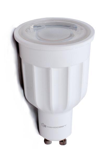Лампа светодиодная Наносвет GU10 10W 4000K прозрачная LE-MR16A-10/GU10/940 L271
