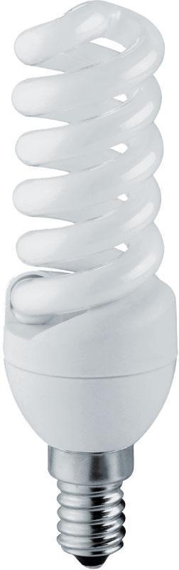 Лампа энергосберегающая Наносвет E14 15W 2700K матовая ES-SP15/E14/827 E060
