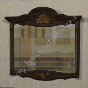 """Зеркало  """"Руссильон PROVENCE- 2-105 темный орех"""