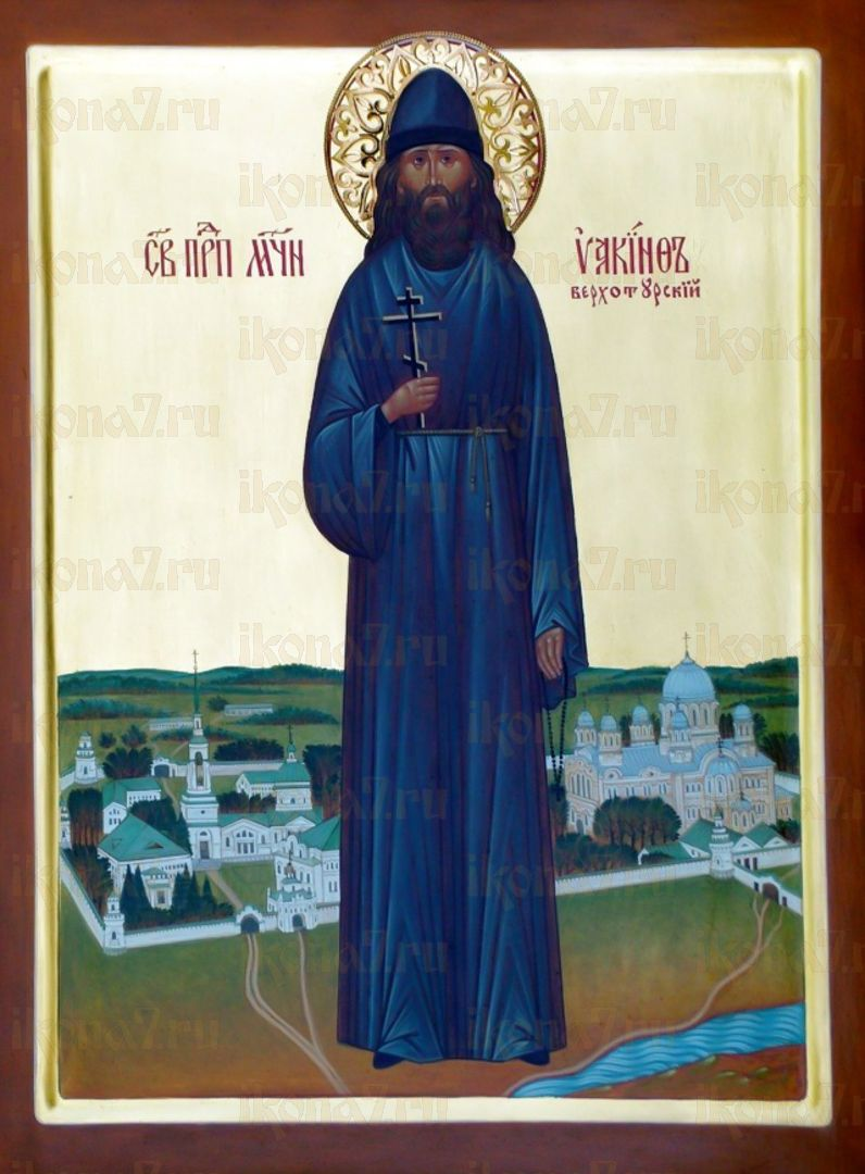 Икона Иакинф Питателев преподобномученик