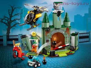 Конструктор Lari Супер Герои Бэтмен и побег Джокера 11349 (76138) 195 дет