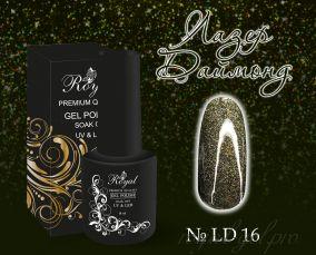 "Royal гель лак ""Лазер Даймонд""  10 мл LD016"