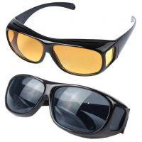 Антибликовые очки HD VISION Wrap Arounds 2 пары_4