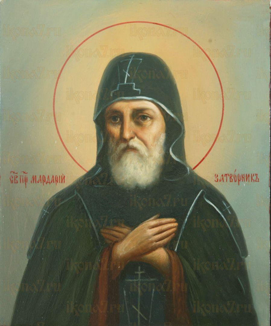 Икона Мардарий Печерский преподобный