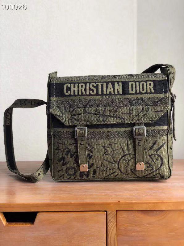 Сумка мессенджер Dior Oblique