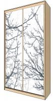 Наклейка на шкаф - Ветки | магазин Интерьерные наклейки