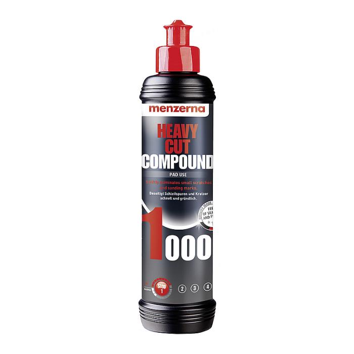 Menzerna Heavy Cut Compound 1000 Высокоабразивная полировальная паста, 250мл.