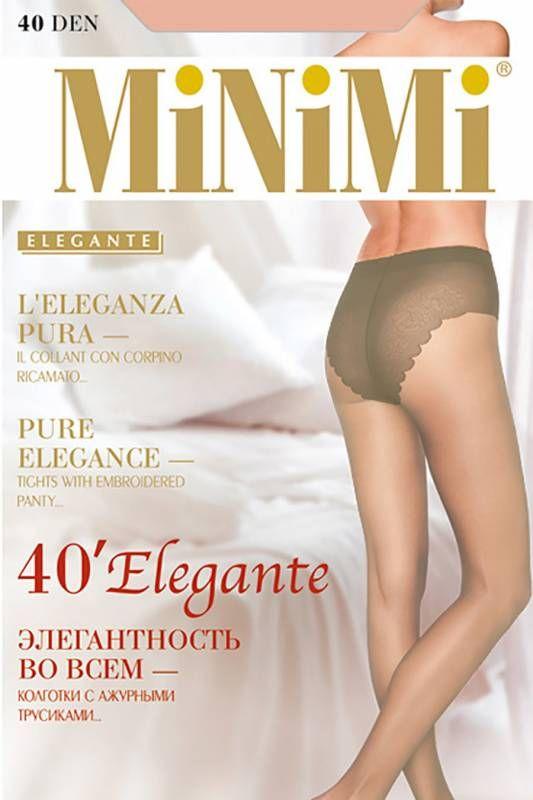 Колготки женские Minimi на размер 2 цвета карамель