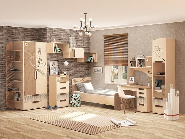 Мебель для детской «Фристайл»
