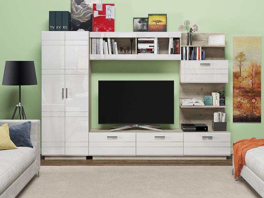 Глейс-02 Белый глянец Производитель: Фабрика мебели Виват