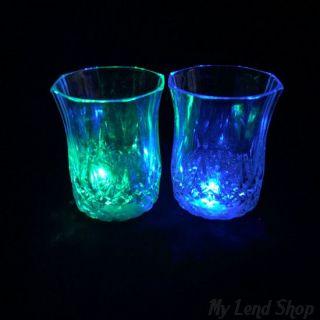 Мерцающая рюмка Light-up Liquid Activated Glass 70 мл, 1 шт.